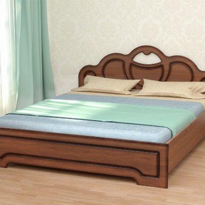 «Кэт-2» Кровать Эвита-2 с ортопедическим основанием низкий щиток (дл)