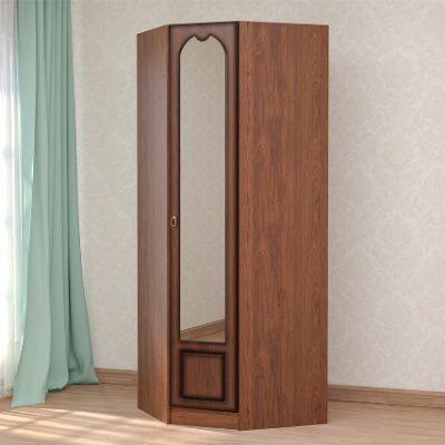 «Кэт-2» Шкаф угловой с зеркалом Эвита (дл)