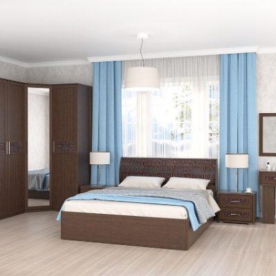Спальня «Кэт-4» композиция 2 (дл)