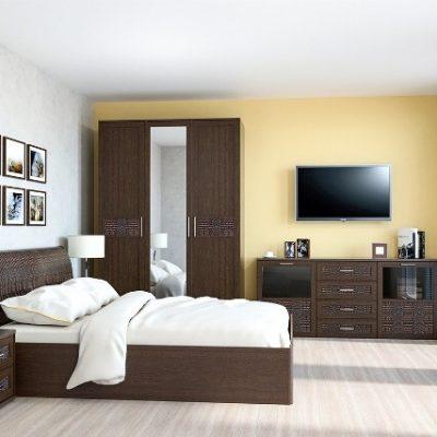 Спальня «Кэт-4» композиция 3 (дл)