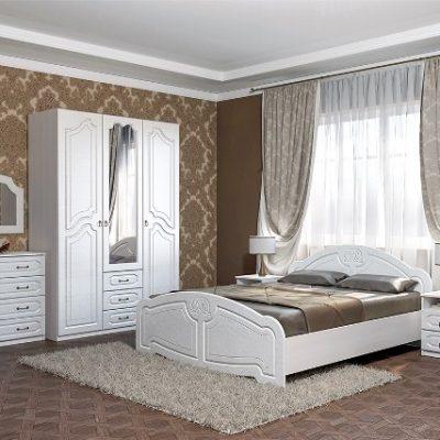 Спальня «Кэт-6» Классика композиция 1 (дл)