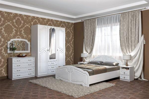 """Спальня """"Кэт-6 Классика"""" композиция 1 (дл)"""