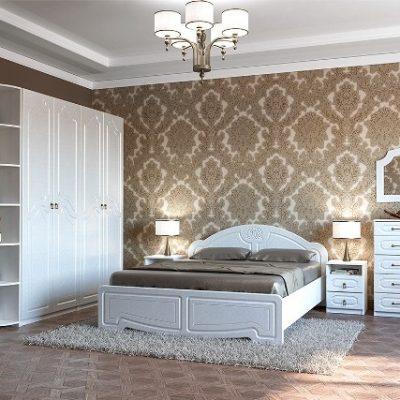 Спальня «Кэт-6» Классика композиция 2 (дл)