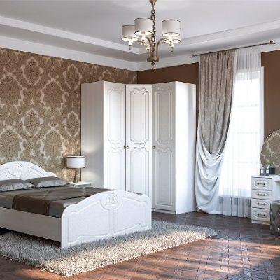 Спальня «Кэт-6» Классика композиция 3 (дл)