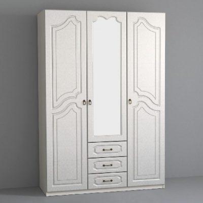 «Кэт-6» Классика Шкаф 3-х створчатый (дл)