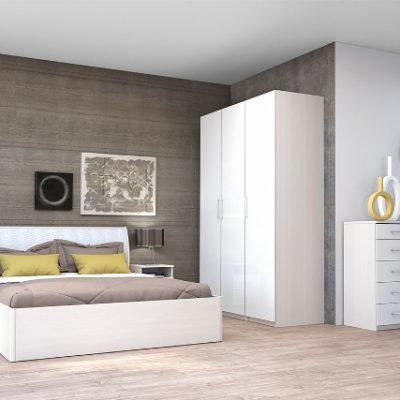 Спальня «Кэт-6 ЛДСП» композиция 3 (дл)
