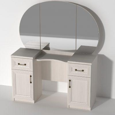 «Кэт-6 Рамка» Стол туалетный 3 (дл)