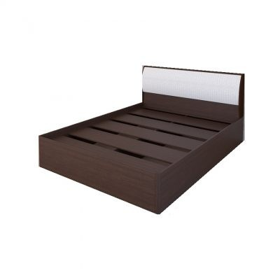 «Кэт-1» Кровать 1,4 арт. 001 Кайман белый (дл)