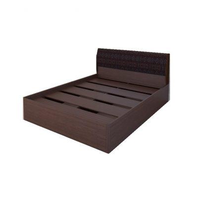 «Кэт-1» Кровать 1,4 арт. 001 Кайман темный (дл)