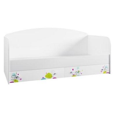 «Радуга» Кровать с ящиками (д)