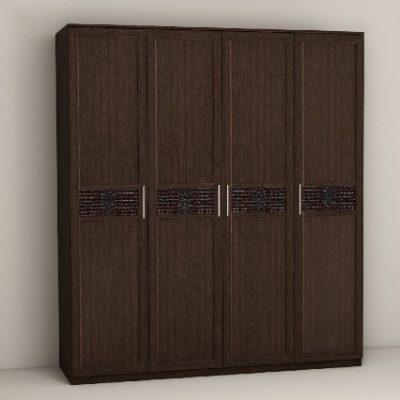 «Кэт-4» Шкаф 4-х створчатый (дл)