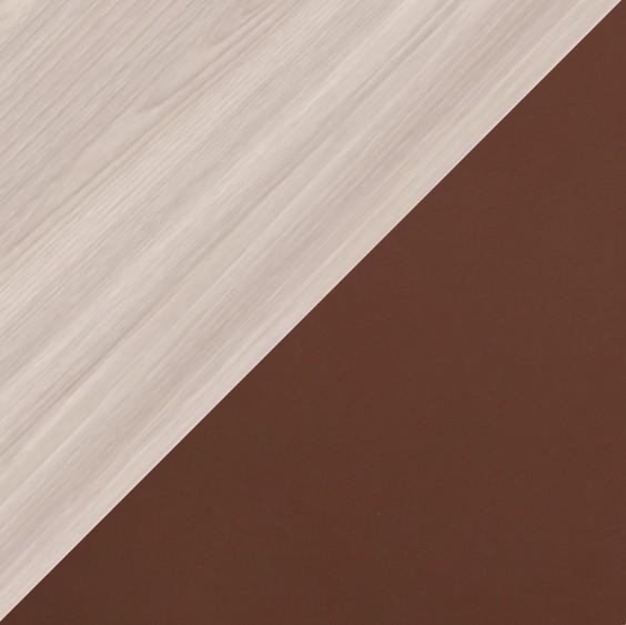 Ясень светлый/Шоколад