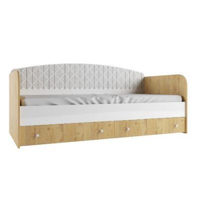 «Сканди» Кровать с ящиками (д)