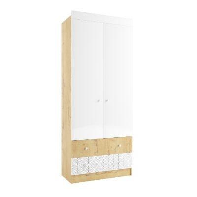 «Сканди» Шкаф 900 с ящиками (д)