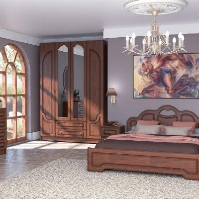 Спальня «Кэт-2» Эвита композиция 2 (дл)