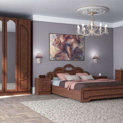 Спальня «Кэт-2» Эвита композиция 4 (дл)