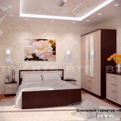 Спальня «Фиеста» композиция 1 (б)