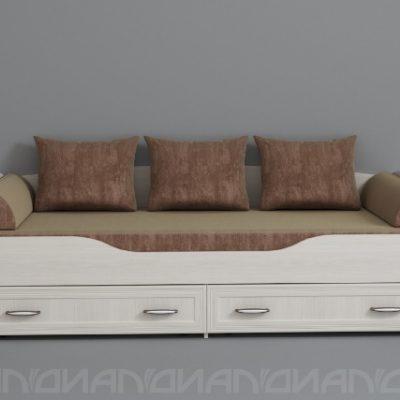«Колибри» Кровать (дл)