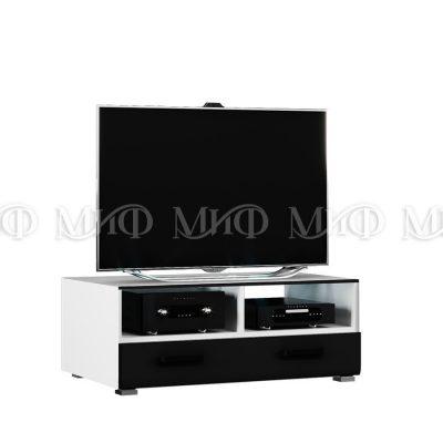 «Квадро» Тумба ТВ со стеклом исп 2 (м)