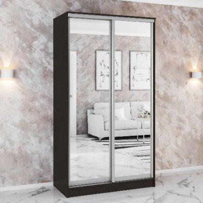 Шкаф-купе «Комфорт-2» 2 зеркала (т)