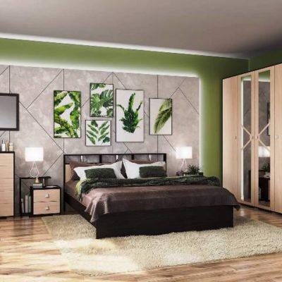 Спальня «Ненси-2» композиция 2 (т)