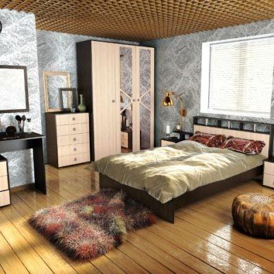 Спальня «Ненси-2» композиция 3 (т)