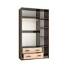 Шкаф «Лагуна» 1,2 м. с зеркалом (т)