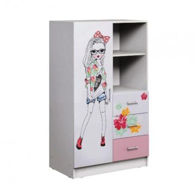 «Вега Fashion» Шкаф комбинированный (м)