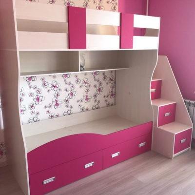 Двухъярусная кровать в детскую 16
