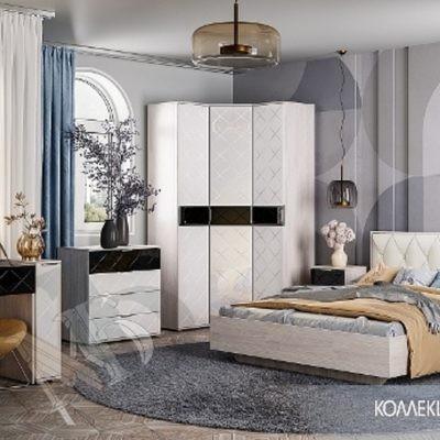 Спальня «Кимберли» композиция 1 (б)
