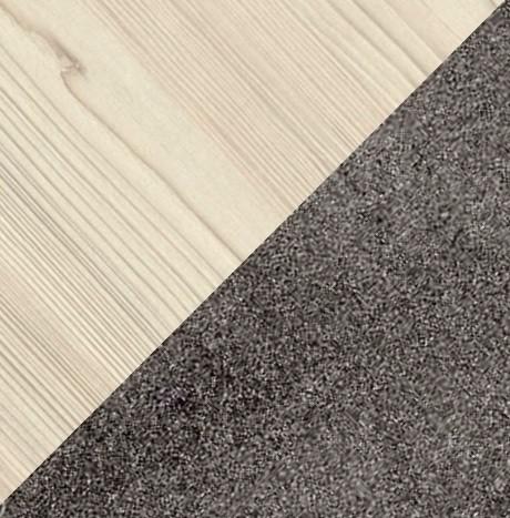 коричневый бетон/клен скандинавский