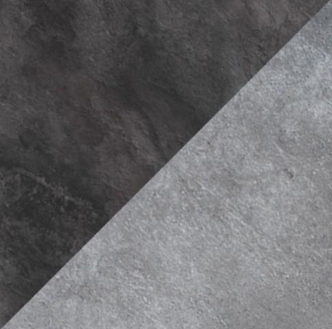 Бетон светлый/Камень темный