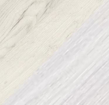 Дуб крафт/Ясень белый