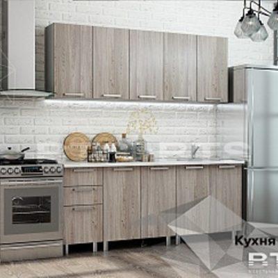 Кухня «Эко» ясень светлый 2,0 (б)