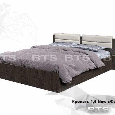 Кровать «Фиеста» 1.6 NEW с мягким изголовьем (б)