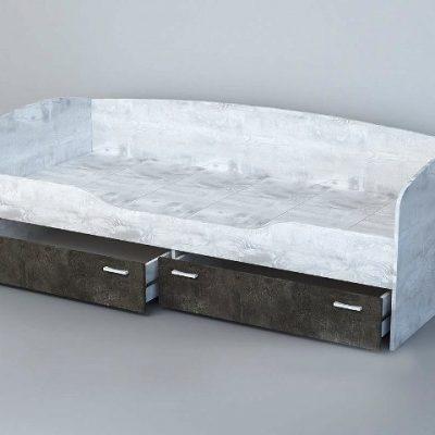 «Эго» Кровать арт. 015 (дл) (Копировать)