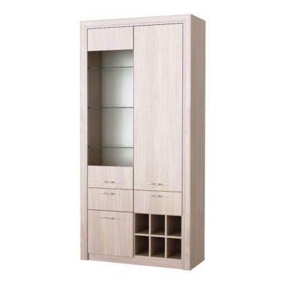 «Октава» Шкаф 1В2С2Я (п)
