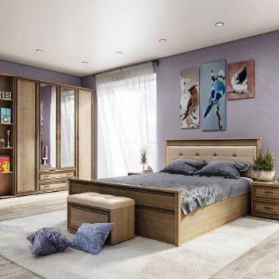 Спальня «Ливорно» композиция 2 (т)
