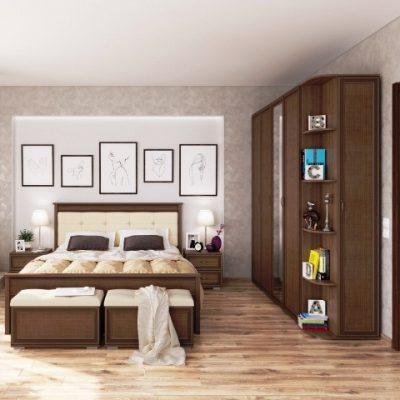 Спальня «Ливорно» композиция 3 (т)