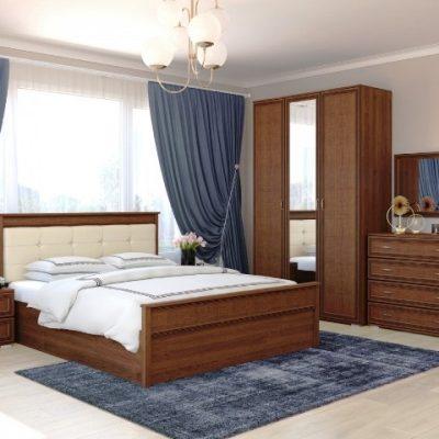 Спальня «Ливорно» композиция 1 (т)