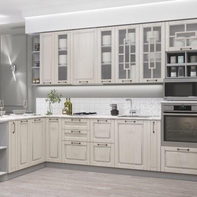 Модульная кухня «Гарда» угловая 1800*3500 мм. (Д)