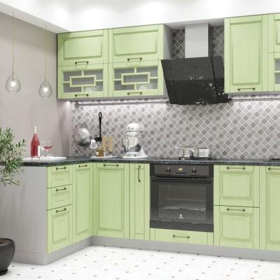 Модульная кухня «Гарда» угловая 1400*2800 мм. (Д)