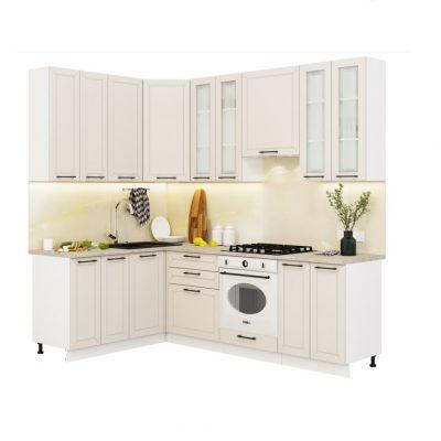 Кухонный гарнитур угловой 1,6*2,4 м «Кёльн» (иц)