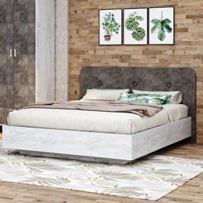 Кровать «Эго» арт. 031 мягкий щиток (дл)