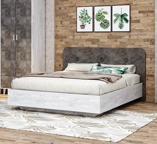 """Кровать """"Эго"""" арт. 031 мягкий щиток (дл)"""