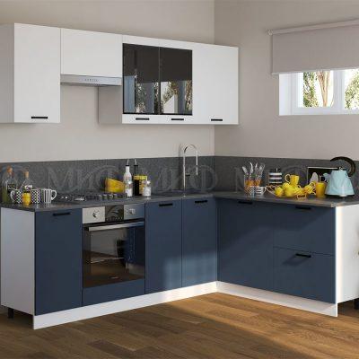 Кухня угловая 2,4*1,8 м «Техно NEW» (м)