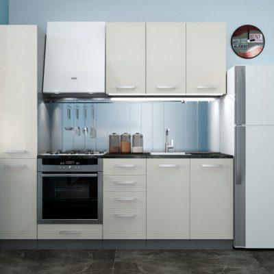 Кухонный гарнитур 2,20 м «Виста» (иц)