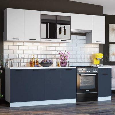 Кухня 2,6 м «Техно NEW» (м)