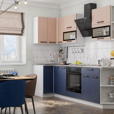 Кухня угловая 0,9*2,7 м «Техно NEW» (м)