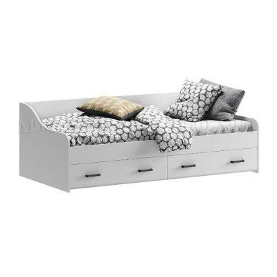 «Вега NEW» Кровать с ящиками (м)